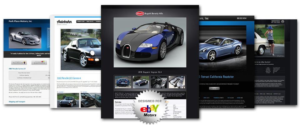 free ebay store templates builder - high definition ebay auction templates